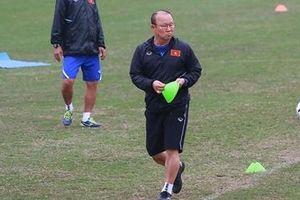 HLV Park Hang-seo tự tay sắp xếp sân tập cho tuyển U23