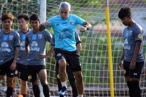 Sau 1 buổi tập, U23 Thái Lan mất 2 cầu thủ