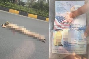 Một cô gái ngoại quốc nhảy cầu vượt gần sân bay Nội Bài tự tử