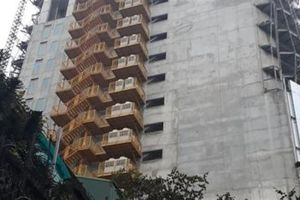 Dân lo sợ sống dưới tòa nhà của Tập đoàn DOJI