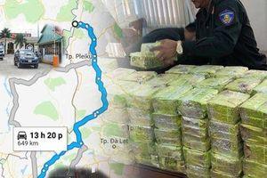 300 kg ma túy đá lọt vào TP HCM như thế nào?