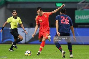 Đội tuyển Trung Quốc bại trận trước đội tuyển Thái Lan