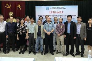 Hội Nhà báo TP Hà Nội thành lập Chi hội nhà báo Văn phòng đại diện - Cơ quan thường trú tại Hà Nội