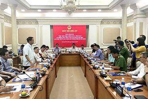 Đoàn giám sát Quốc hội làm việc với TP HCM về phòng cháy, chữa cháy