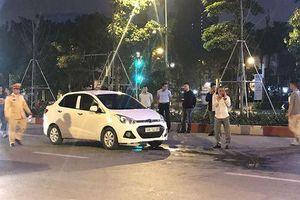 Nam thanh niên bị tài xế ô tô đâm trọng thương tại Hà Nội hiện ra sao?