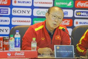 HLV Park Hang Seo: 'Ngôi á quân châu Á đã là quá khứ'