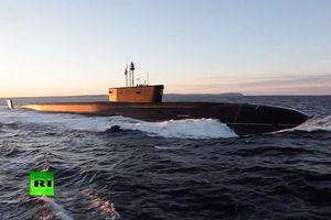Nga bất ngờ tung clip về tàu ngầm uy lực nhất thế giơíNga bất ngờ tung clip về tàu ngầm uy lực nhất thế giới