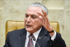 Cựu Tổng thống Brazil M.Temer bị bắt giữ