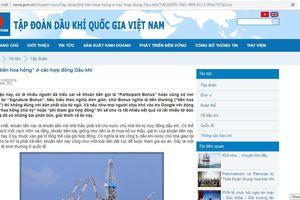 PVN lên tiếng về 'tiền hoa hồng' ở các hợp đồng Dầu khí: Không thể làm khác được