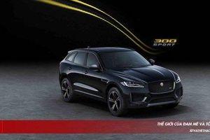 Jaguar F-Pace bổ xung phiên bản đặc biệt 300 Sport và Chequered Flag
