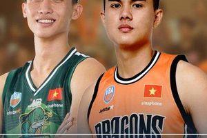 Phạm Duy Hậu cùng Nguyễn Hoàng Tuấn chính thức nghỉ thi đấu VBA 2019