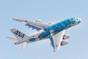 All Nippon Airways (Nhật Bản) nhận máy bay A380 đầu tiên