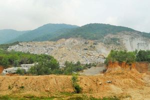 Phù Cát (Bình Định): Khai thác đá phá cảnh quan, môi trường