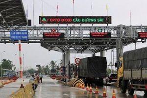 Tổng cục đường bộ chính thức kiểm tra thu phí tại trạm BOT Ninh Lộc