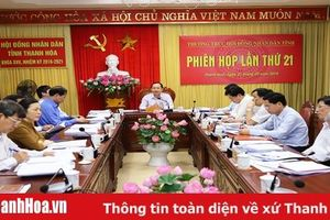 Thường trực HĐND tỉnh cho ý kiến vào các báo cáo, tờ trình tại kỳ họp lần thứ 8, HĐND tỉnh khóa XVII