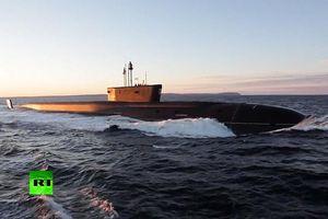 Nga chạy thử tàu ngầm hạt nhân 'tàng hình' lớp Borey mới