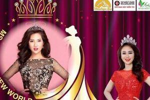 Hoa hậu Việt Hàn Tuyết Nhung làm Đại sứ Ms VietNam New World 2019 tại Canada