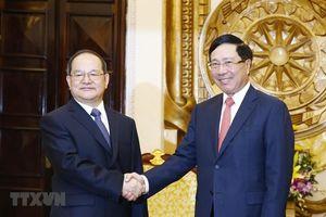 Tăng cường quan hệ hữu nghị, hợp tác giữa các bộ, ngành, địa phương của Việt Nam với tỉnh Quảng Tây