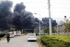 Trung Quốc: 44 người thiệt mạng, hơn 600 người bị thương sau vụ nổ nhà máy hóa chất