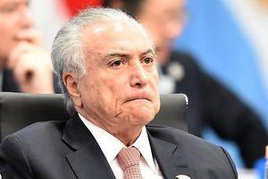 Thêm một cựu tổng thống Brazil bị bắt vì tham nhũng