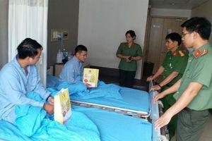 Công an viên ở Đồng Nai bị đâm vào mặt bằng căm xe