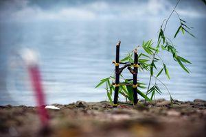 Cận cảnh bãi tắm 'tử thần' nuốt chửng 8 em học sinh ở Hòa Bình