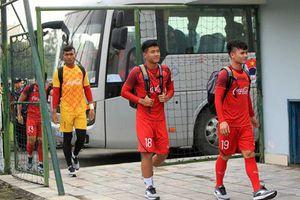 U23 Việt Nam xuất trận