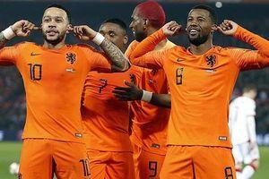 'Cố nhân' Man United tỏa sáng, Hà Lan thắng tưng bừng vòng loại Euro