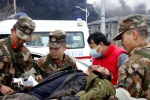 Nổ nhà máy hóa chất ở Trung Quốc, ít nhất 44 người chết
