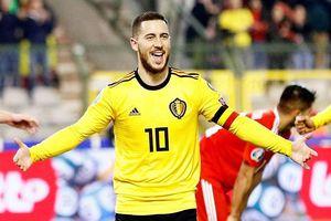 EURO 2020: Hazard 'giải cứu' tuyển Bỉ, Hà Lan biểu dương sức mạnh