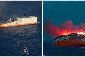 Video cháy tàu ở Địa Trung Hải thiêu hủy nhiều siêu xe đặc biệt