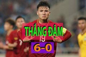 U.23 Việt Nam 6-0 U.23 Brunei: Màn 'khởi động' nhẹ nhàng