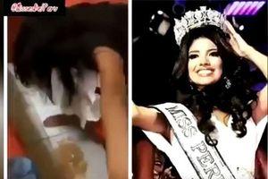 Showbiz 22/3: Hoa hậu Peru bị tước vương miện vì lộ clip say xỉn?