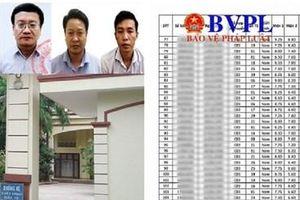 Chốt lịch công bố danh sách thí sinh trong vụ gian lận điểm thi tại Hòa Bình