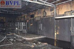 Phê chuẩn quyết định khởi tố bị can vụ cháy quán Ruby làm 7 người chết