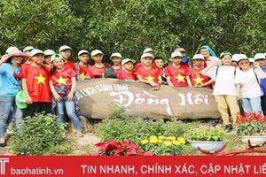 Khu sinh thái Đồng Nôi lập kỷ lục 1 ngày đón hơn 1.200 lượt khách