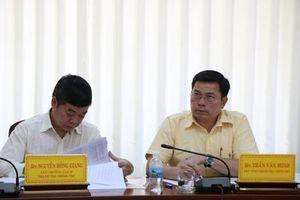 Phó Tổng Thanh tra Chính phủ làm việc với UBND tỉnh Ninh Thuận