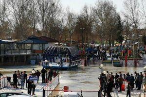 Chìm phà tại Iraq, gần 100 người thiệt mạng