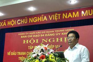 Tập huấn nghiệp vụ về đấu tranh chống âm mưu 'Diễn biến hòa bình' trên lĩnh vực tư tưởng văn hóa