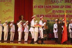 Công an quận Bắc Từ Liêm đón nhận Huân chương Chiến công hạng Nhì