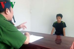 Tiền Giang: Tạm giữ thanh niên cướp giật cặp sách của nữ sinh