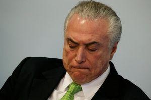 Thêm một cựu tổng thống Brazil bị bắt giữ với cáo buộc tham nhũng