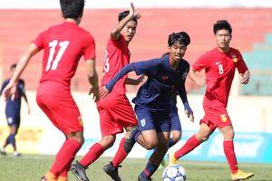 U19 Thái Lan đánh bại đại diện của Trung Quốc ở giải U19 quốc tế