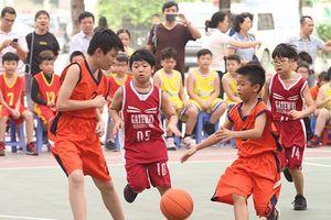 Quận Cầu Giấy: Sôi động Giải bóng rổ học sinh năm 2018-2019
