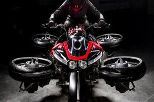 Cận cảnh môtô bay 13 tỷ đồng, nhìn nổi hơn cả siêu xe của Phúc XO