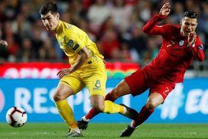 Bồ Đào Nha bị cầm hòa trong ngày Ronaldo trở lại