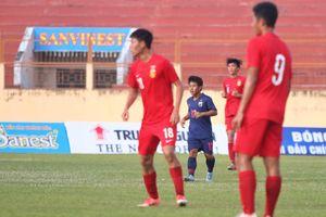 U.19 Quốc tế 2019: Thái Lan thắng dễ Trung Quốc
