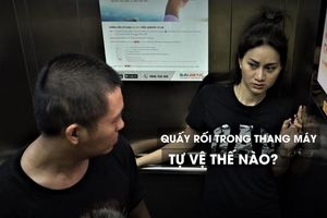 Cascadeur Phi Ngọc Ánh hướng dẫn tự vệ khi bị quấy rối trong thang máy