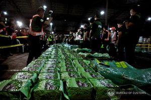Philippines bắt lô ma túy đá 'khủng' từ Việt Nam