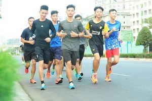 VĐV phong trào săn cấp Kiện tướng ở Tiền Phong Marathon 2019